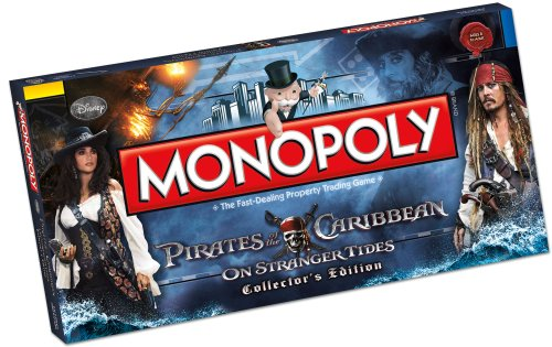 Monopoly Pirates of the Caribbean Board Game