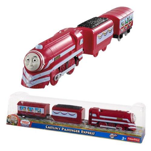 (日本未発売) TRACK MASTER きかんしゃトーマスとなかまたち ケイトリンの特急客車 CAITLIN (Y3348) プラ