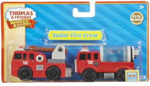 ラーニングカーブ きかんしゃトーマス 木製レールシリーズ 消防車 LC99148
