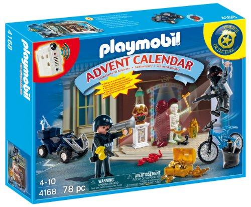 Playmobil - 4168 - Calendrier de L'Avent - Policier et Voleur d'antiquit?s avec Surprises