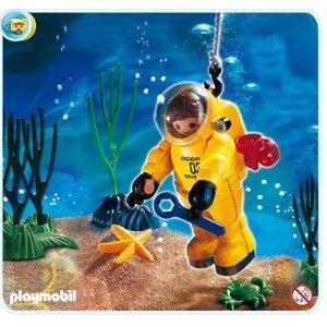 プレイモービル #4479 アンダーウォーター 探検 DEEP SEA DIVER