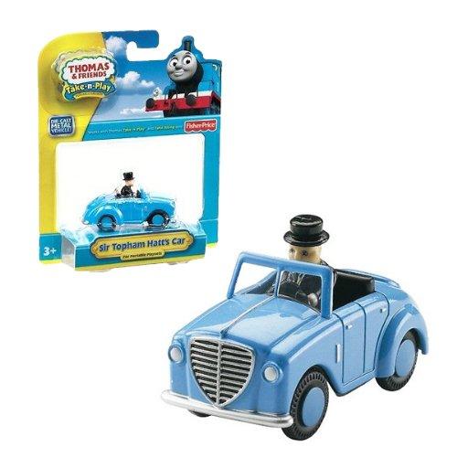 (日本未発売)Fisher Price(Take-N-Play)トミカサイズ トップハム・ハット卿の車Sir Topham Hatt's Car(R9