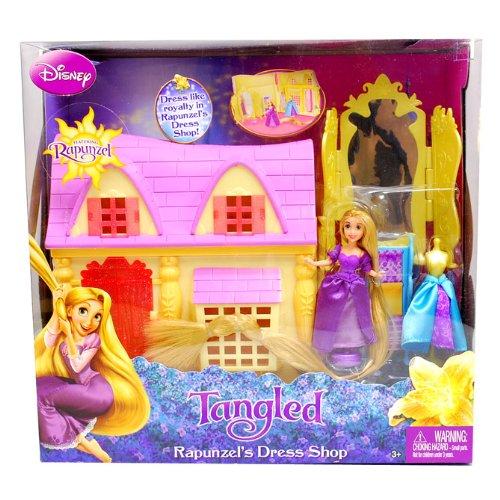 [ディズニー]Disney Princess Rapunzel's Dress Shop/プリンセス ラプンツェル ドレスショップ お人形セ