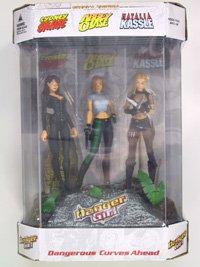 MCFARLANE TOYS Danger Girl Fishtank 3-Figure Limited Edition Set