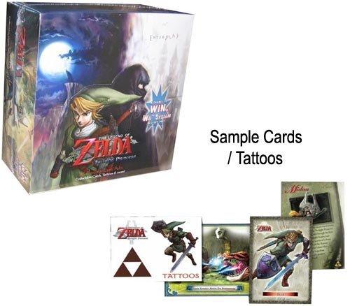 ゼルダの伝説 トワイライトプリンセス トレーディングカードBOX 24パック入り