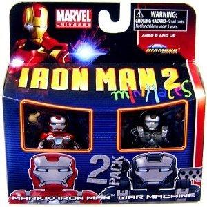 マーヴル ミニメイツ 2パック シリーズ35/アイアンマン2/アイアンマン マーク5 & ウォーマシン