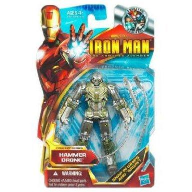 海外直輸入 マニア必見!アイアンマン Iron Man Iron Man 2 Movie 4 Inch Action Figure #44 Hammer Dron