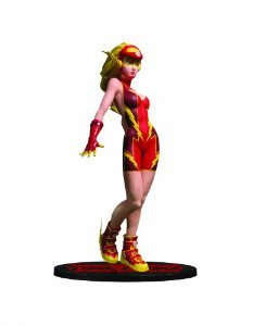 DC Direct Ame-Comi Heroine Series: Jesse Quick as The Flash PVC フィギュア 人形 フィギュア おもち