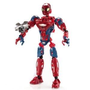 Mega Bloks (メガブロック) Spiderman (スパイダーマン) Techbot ブロック おもちゃ