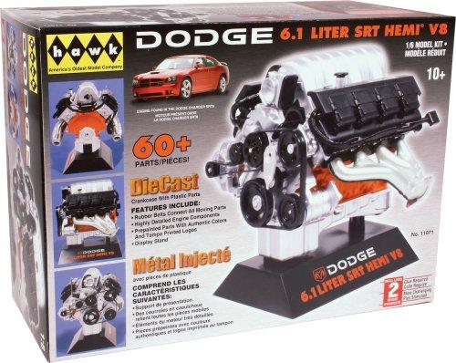 1/6 ダッジ6.1L SRT Hemi V8エンジン