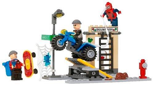 レゴ スパイダーマン2 ダイヤモンド強盗を追え! 4853