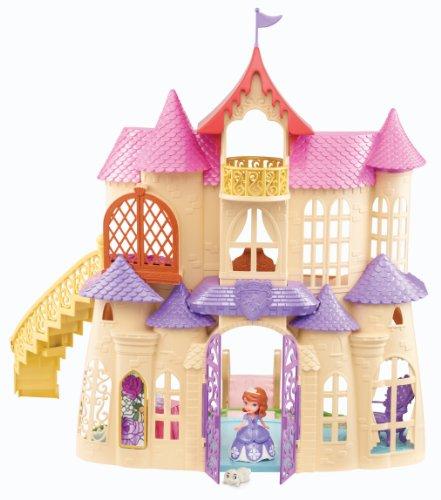 ディズニー ソフィア ニューマジカル城 Disney Sofia The First New Magical Talking Castle