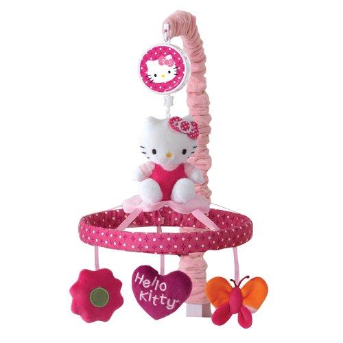 ハローキティ ガーデン ミュージカルモバイル Pink