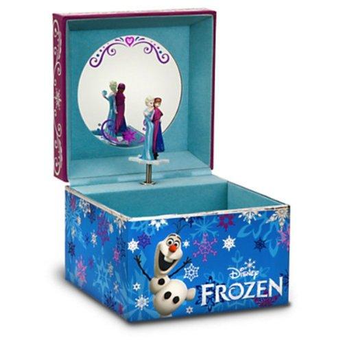 ディズニー アナと雪の女王 アナ エルザ 宝石箱 Disney Store Musical Frozen Jewelry Box Anna Elsa