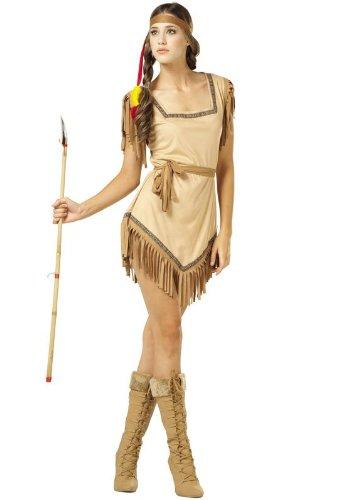 Naughty Galilahi インディアン インディアン 大人用コスチューム/ハロウィン/コスプレ/衣装/仮装/大人用
