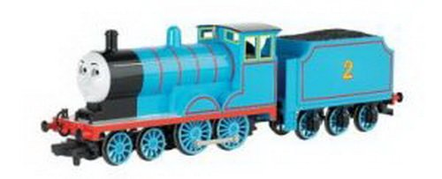男の子が大好き・きかんしゃトーマス 移動の瞳を持つエドワードエンジン Bachmann Trains社