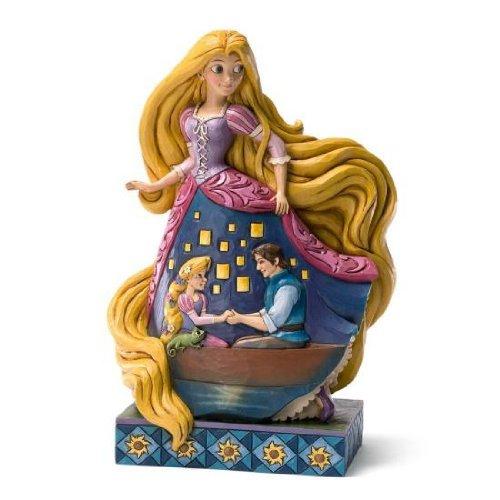 ディズニーフィギュア ジム・ショワ 塔の上のラプンツェル Disney Traditions JimShore Rapunzel 4031485