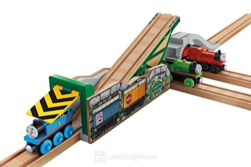 きかんしゃトーマス 木製レールシリーズ TIDMOUTH'S TIPPING BRIDGE ティッドマウスの傾いてる橋 BMM89