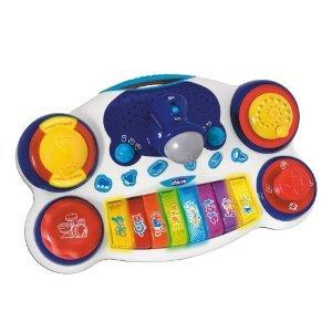 Chicco Toys DJ Piano おもちゃ