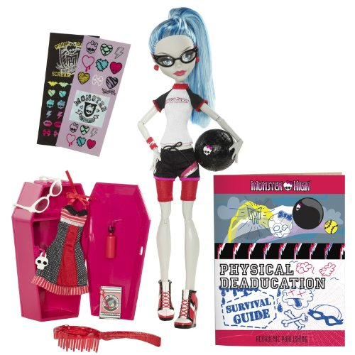 モンスターハイ Monster High Classroom Playset And Ghoulia Yelps Doll