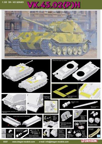 素晴らしい品質 1 VK.45.02(P)/35 H型 WW.II ドイツ軍 VK.45.02(P) 試作重戦車 H型 試作重戦車, ちょっと印刷.com:2a6d6fdf --- canoncity.azurewebsites.net