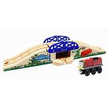 ラーニングカーブ きかんしゃトーマス 木製レール はね橋 ソルティー