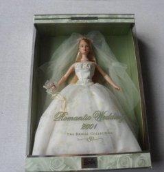 Romantic ウェディング 2001 Bridal コレクション バービー 人形 131002fnp