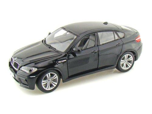 ダイキャストカー BMW X6M ブラック 1/18