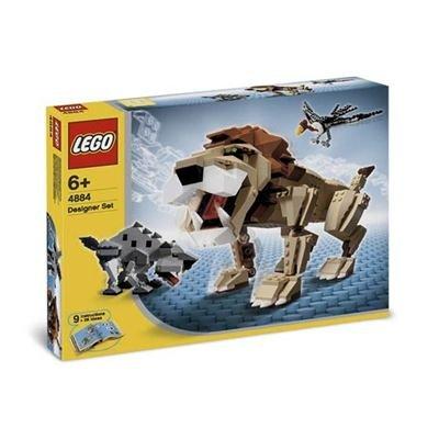 正規品! レゴ レゴ デザイナー ワイルドアニマル 4884 4884, 『2年保証』:9c2f8587 --- konecti.dominiotemporario.com