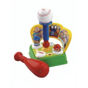 Fisher-Price Brilliant Basics Baby's First Baseball