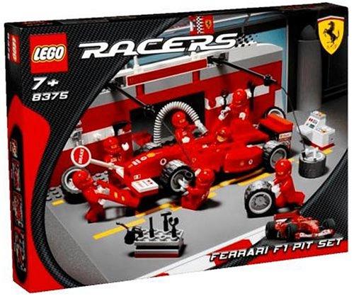 レゴ レーサー フェラーリF1ピットセット 8375