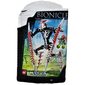 レゴ Year 2008 Bionicle Mistika シリーズ 9 インチ Tall フィギュア セット # 8694 - ホワイト KRIKA w