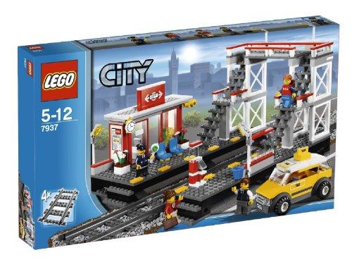 レゴ シティ トレイン シティの駅 7937