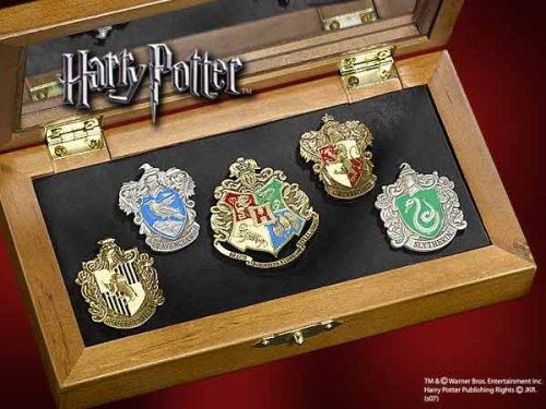 ハリーポッター ホグワーツ魔法学校ピンズセット
