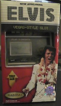Now Appearing Elvis Vegas-Style Slot Machine おもちゃ