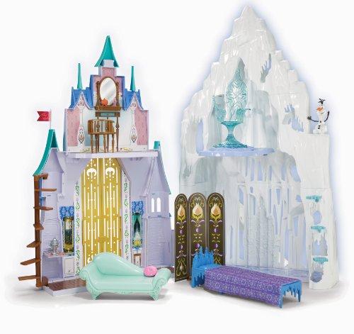 映画 ディズニー プリンセス グッズ フィギュア イベント アナと雪の女王 グッズ おもちゃ 人形 宮殿のセ