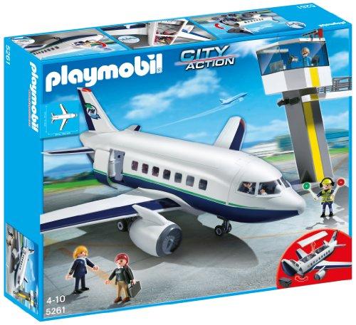 正規激安 PLAYMOBIL プレイモービル プレイモービル 5261 - Cargo- PLAYMOBIL und und Passagierflugzeug, ワークショップコンドー:145436a6 --- fabricadecultura.org.br