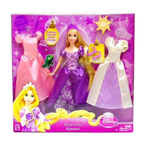 [ディズニー]Disney Princess Royal Style Rapunzel/塔の上のラプンツェル ロイヤルスタイル 着せ替え 人