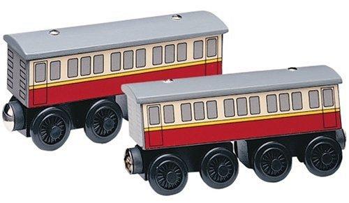 ラーニングカーブ きかんしゃトーマス 木製レール 客車 99088