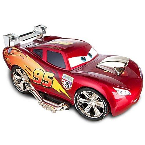 国内未発売 ディズニーストア限定 Cars 2 カーズ2 ライトニング・マックィーン カスタムカー セット / Bu