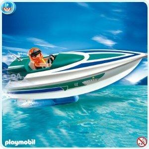 プレイモービル 5833 Speedboat with アンダーウォーター Motor