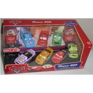 Mattel ディズニーピクサー カーズ Dinoco 400 8-pc カーズ Collector セット