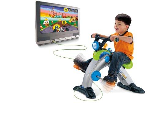 フィッシャープライススマートサイクルレーサー 英語の書き方、数などお遊びながら学ぶ玩具  アメリカ