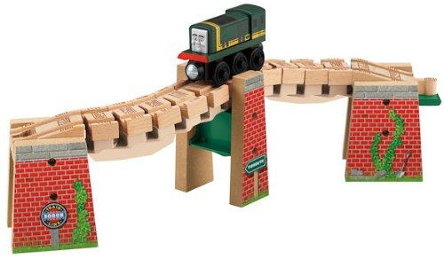 きかんしゃトーマス 木製レールシリーズ WRACKY TRACK BRIDGE くねくね線路 と 橋 と パクストン Y4494