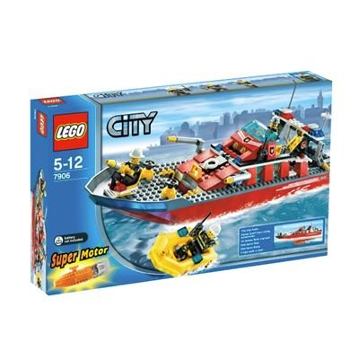 レゴ シティ 消防ボート 7906