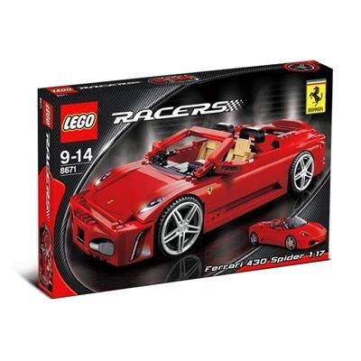 レゴ フェラーリ F430スパイダー1/17 8671