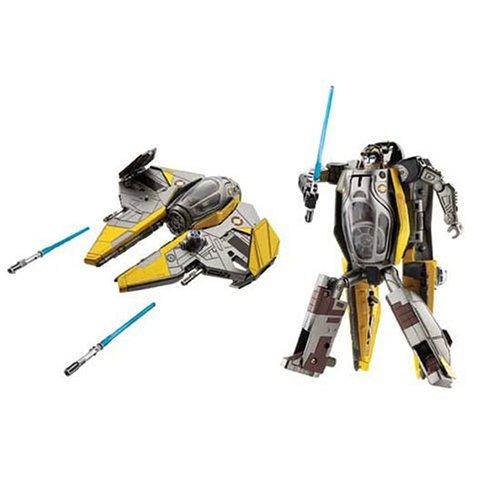 STAR WARS - Transformers トランスフォーマー [Anakin Skywalker / Jedi ジェダイ starfighter] フィギ