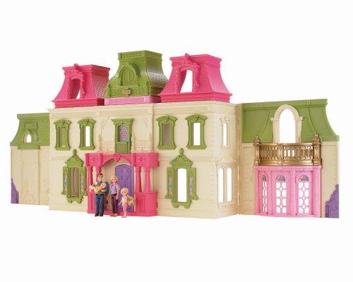 Fisher Priceフィッシャープライス製 ドリームドールハウス(ハウス・お人形遊び)