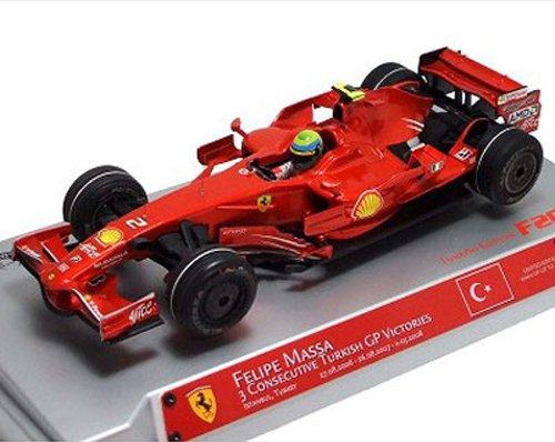 MATTEL 1/18 フェラーリ F1 2008 F.Massa ( Triple Win in Turkish GP)