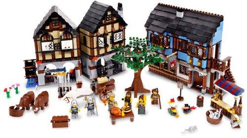 【正規品】 LEGO CASTLE 10193 CASTLE キャッスル Medieval Medieval Market Village(レゴ キャッスル 中世のマーケットヴィレッジ), お仏壇百貨店(現代仏壇&お線香):6b6d6e85 --- fabricadecultura.org.br
